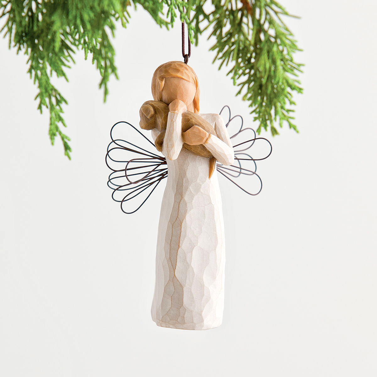 willow tree angel of friendship ornament. Black Bedroom Furniture Sets. Home Design Ideas