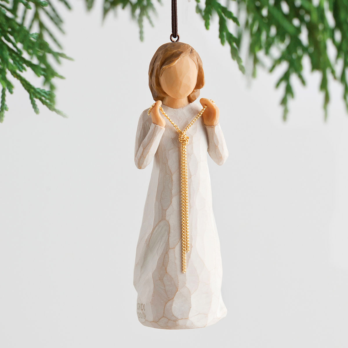 Boy Angel Christmas Ornaments